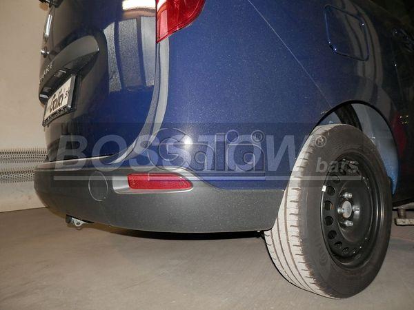 Anhängerkupplung für Dacia-Lodgy Stepway 7-Sitzer, Baureihe 2012-  horizontal
