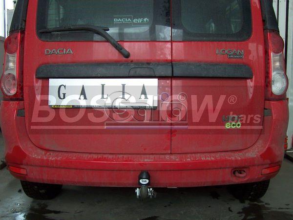 Anhängerkupplung für Dacia-Logan Kombi MCV, Baureihe 2006-2007  horizontal