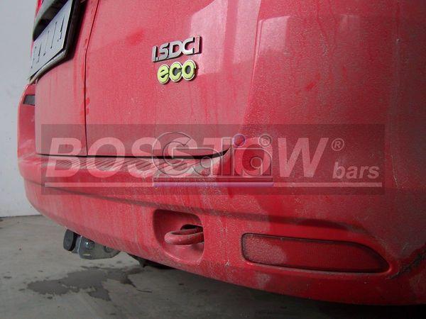 Anhängerkupplung für Dacia-Logan Pick-Up, Baureihe 2008-2012  horizontal