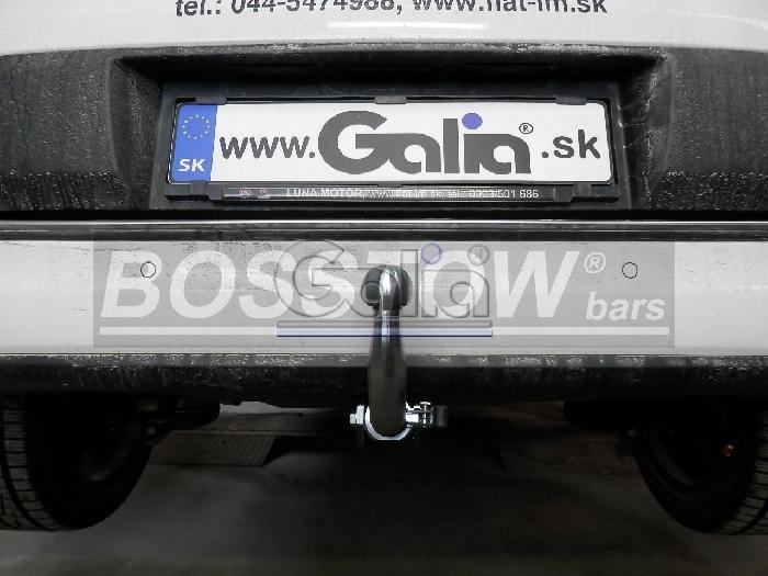 Anhängerkupplung für Fiat-500 L Living, Baureihe 2012-2017  horizontal