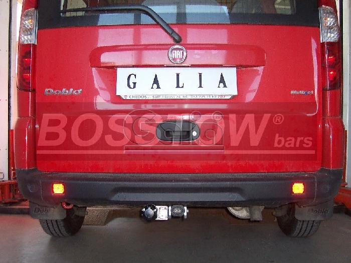 Anhängerkupplung Fiat Doblo I Maxi (223), Baureihe 2000-2005  horizontal