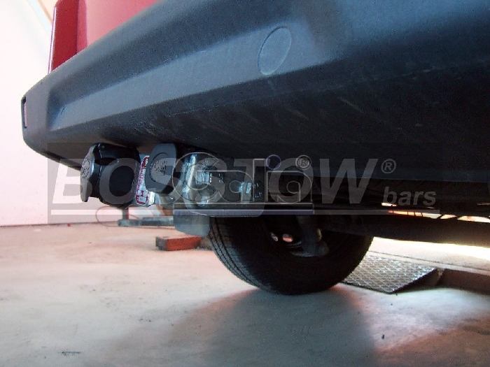 Anhängerkupplung für Fiat-Doblo II Maxi (223), Baureihe 2005-2010  horizontal
