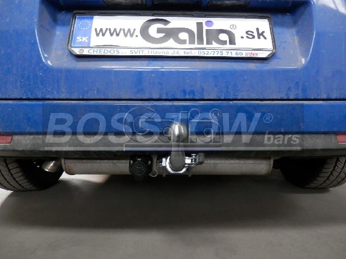 Anhängerkupplung Fiat Doblo III, nur für CNG-Fahrzeuge (263), Baureihe 2010-  horizontal