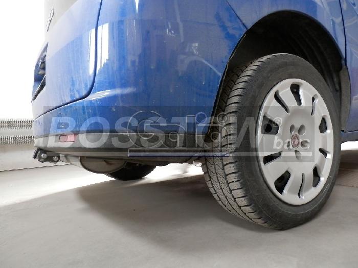 Anhängerkupplung für Fiat-Doblo III, nur für CNG-Fahrzeuge (263), Baureihe 2010-  horizontal