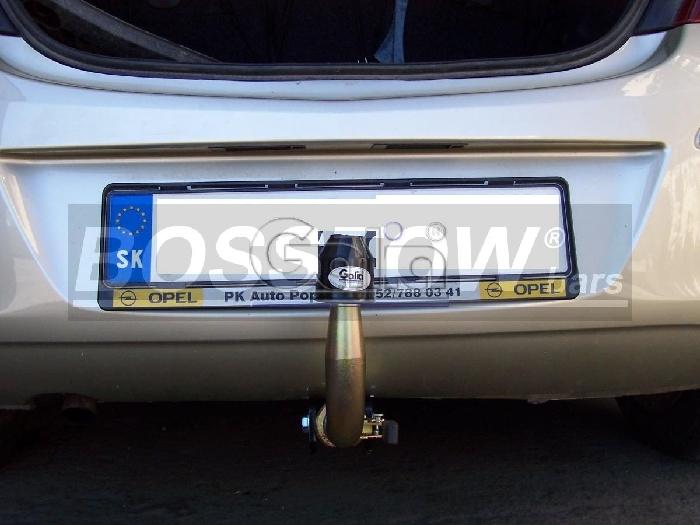 Anhängerkupplung für Fiat-Punto Evo, Baureihe 2009-2011  horizontal