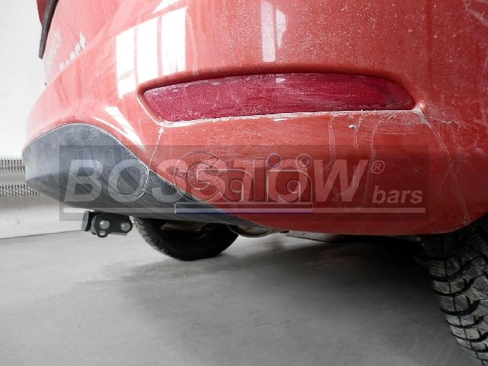 Anhängerkupplung für Ford-B-Max, Baureihe 2012-  horizontal