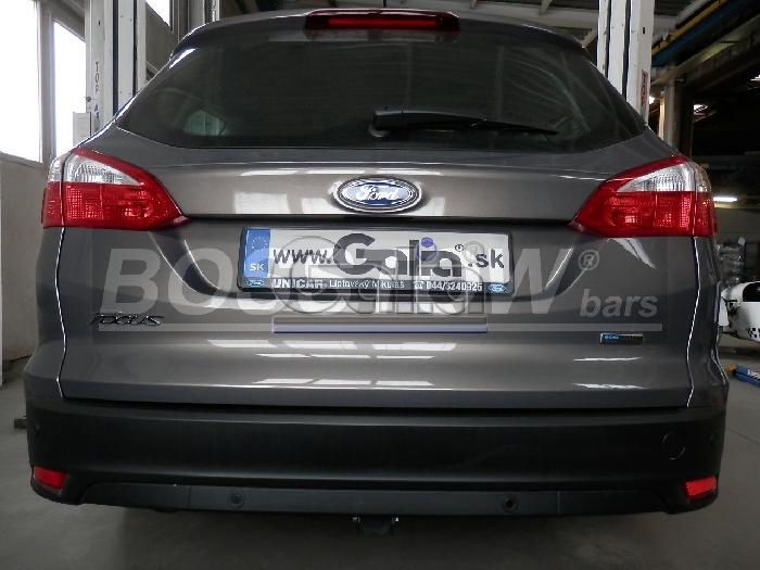 Anhängerkupplung für Ford-Focus Kombi, nicht RS, Baureihe 2011-2018  horizontal