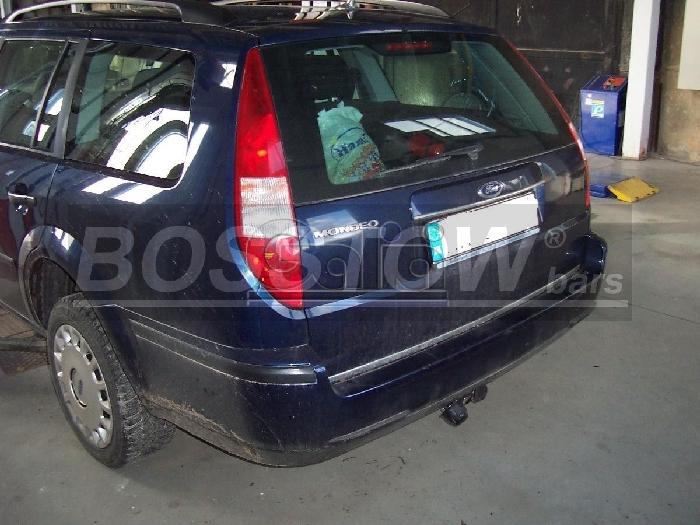 Anhängerkupplung für Ford-Mondeo Turnier, nicht 4x4, nicht RS,ST, Baureihe 1993-2000  horizontal