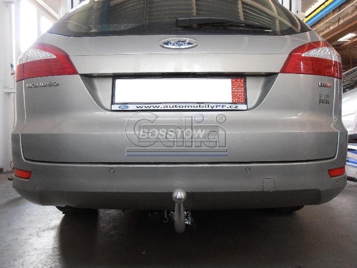 Anhängerkupplung für Ford-Mondeo Lim, nicht 4x4, nicht RS,ST, Baureihe 2007-2015  horizontal