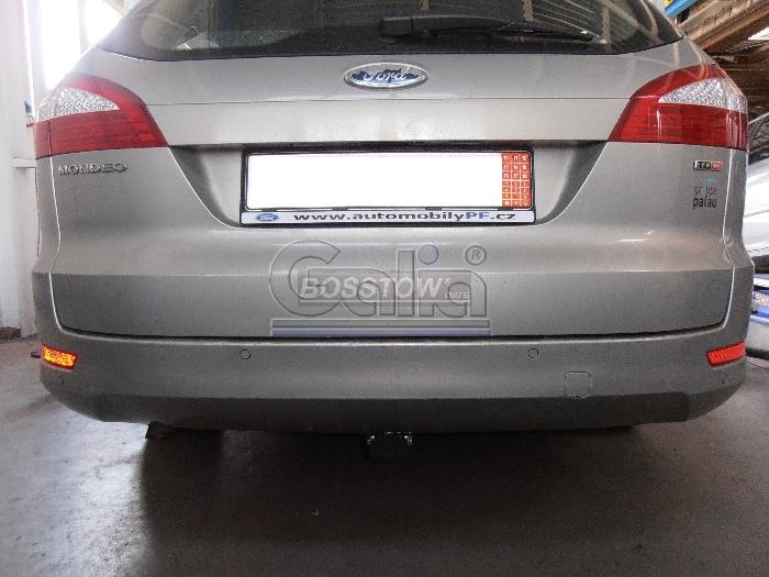 Anhängerkupplung für Ford-Mondeo Turnier, ohne Niveauregulierung, nicht, 4x4, nicht RS,ST, nicht Titanium, Baureihe 2007-2015  horizontal
