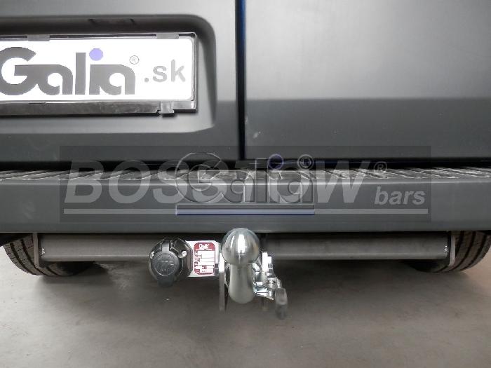 Anhängerkupplung Ford-Transit Bus, Kastenwagen 2, 9- 4,6 t Gesamtgewicht, Baureihe 2016-2019 Ausf.:  horizontal