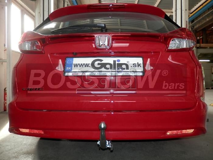 Anhängerkupplung Honda-Civic Tourer, Baureihe 2014- Ausf.:  horizontal