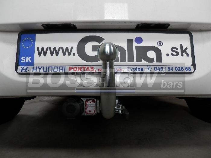 Anhängerkupplung für Hyundai-I20 Fließheck, Baureihe 2012-2014  horizontal