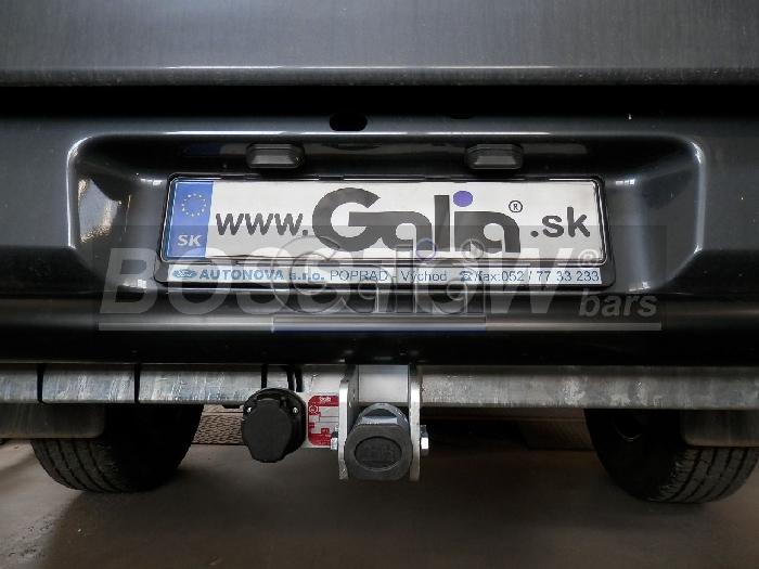 Anhängerkupplung Mazda-BT- 50 4WD m. Rohrstoßfänger, Baureihe 2012-