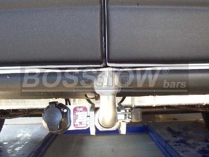 Anhängerkupplung für Nissan-Interstar Kasten, Bus, Kombi, nicht 5,5 t., Baureihe 2004-2006  horizontal