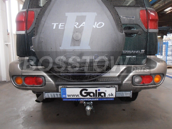 Anhängerkupplung Nissan Terrano II, Baureihe 1996-2000  horizontal