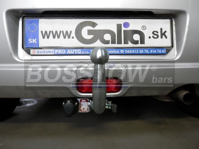 Anhängerkupplung Opel-Agila Minivan, Baureihe 2008- Ausf.:  horizontal