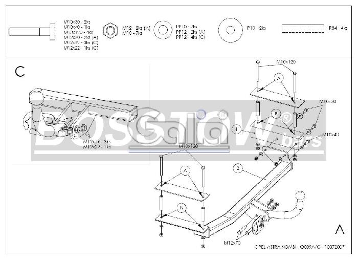 anh ngerkupplung abnehmbar opel astra g kombi nicht cng ahk abnehmbar 1125182 elektrosatz. Black Bedroom Furniture Sets. Home Design Ideas