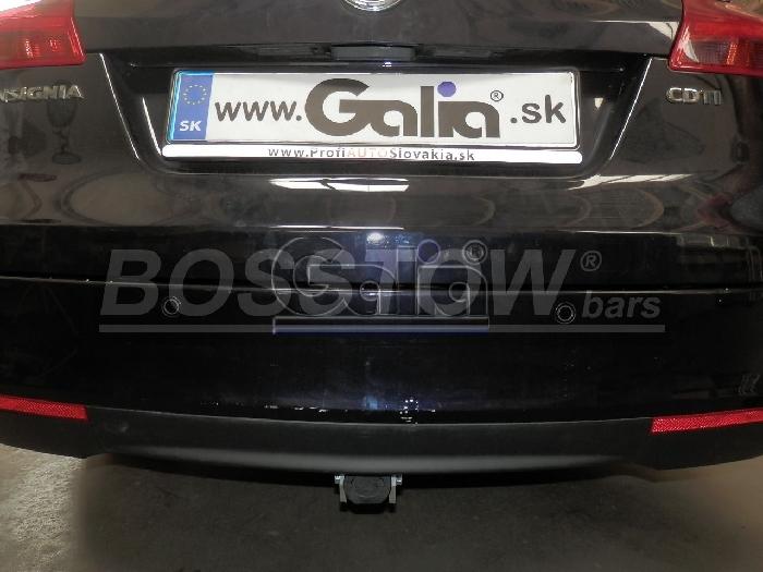 Anhängerkupplung Opel-Insignia A Sports Tourer Tourer, Baureihe 2008- Ausf.:  horizontal