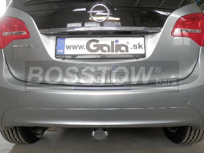 Anhängerkupplung Opel-Meriva B, Minivan, nicht für Kfz. mit Fahrradträgersystem Flex-Fix, Baureihe 2010-2014 Ausf.:  horizontal