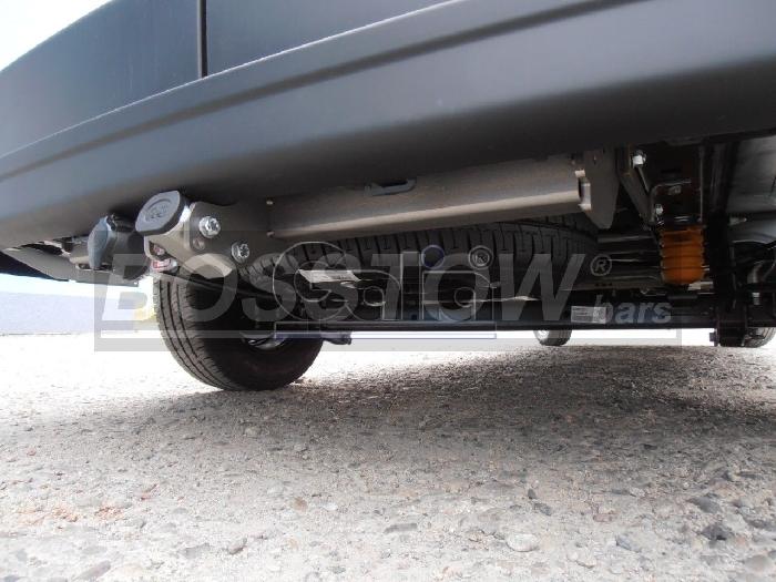 Anhängerkupplung Opel-Movano Kasten, Bus, Kombi, Frontantrieb, Fzg. mit Elektrosatz Vorbereitung, Baureihe 2010-2014 Ausf.:  horizontal