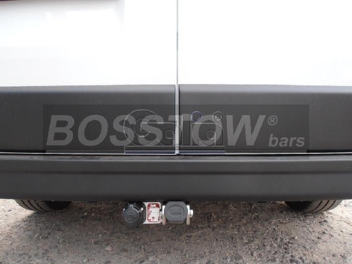 Anhängerkupplung Opel-Movano Kasten, Bus, Kombi, Frontantrieb, Fzg. mit Elektrosatz Vorbereitung, Baureihe 2014- Ausf.:  horizontal
