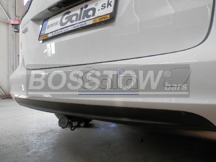 Anhängerkupplung für Opel-Zafira C, Tourer, spez. CNG, Baureihe 2012-2016  horizontal