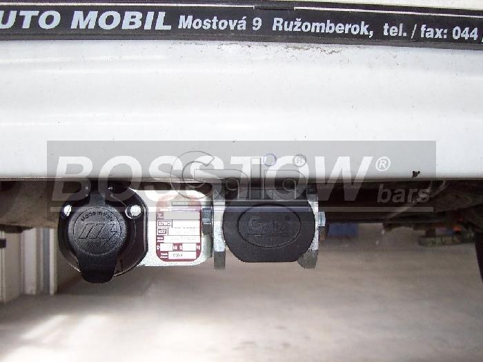 Anhängerkupplung Peugeot-306 Fließheck, nicht Cabrio, Baureihe 1993-1997 Ausf.:  horizontal