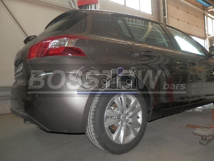 Anhängerkupplung Peugeot-308 SW- Kombi, Baureihe 2014-2018 Ausf.:  horizontal