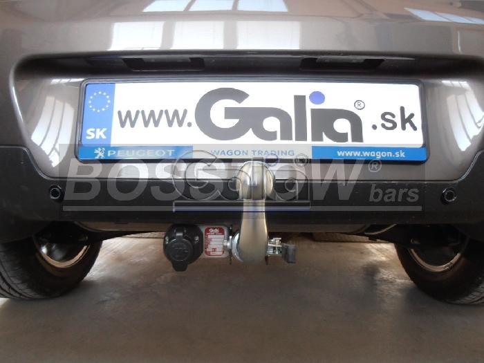 Anhängerkupplung Peugeot-4008, Baureihe 2012-,  Ausf.:  horizontal