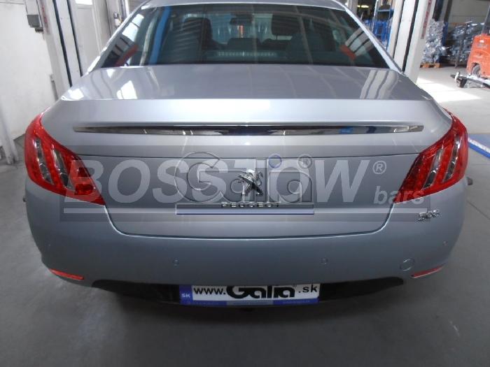 Anhängerkupplung Peugeot-508 Limousine, nicht GT, Baureihe 2011-2014 Ausf.:  horizontal