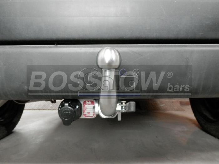 Anhängerkupplung für Peugeot-Partner Kasten/ Bus/ Kombi, Baureihe 2000-2002  horizontal