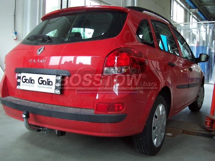 Anhängerkupplung Renault-Clio III Kombi, Baureihe 2007-2009 Ausf.:  horizontal