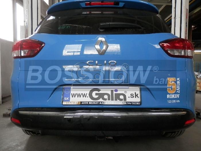 Anhängerkupplung Renault-Clio IV Kombi, Baureihe 2013-2016 Ausf.:  horizontal