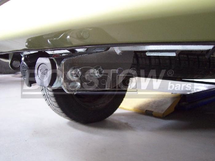 Anhängerkupplung für Renault-Kangoo I nicht 4x4, Baureihe 2002-2007  horizontal