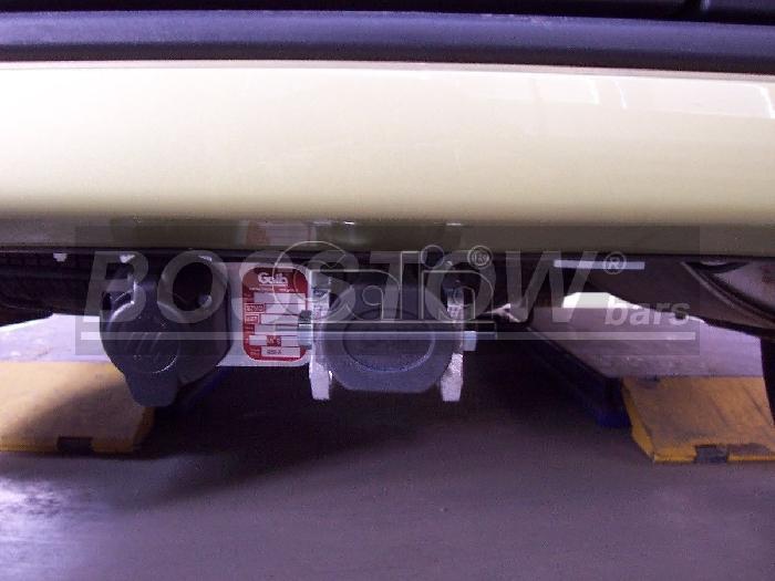 Anhängerkupplung für Renault-Kangoo I nicht 4x4, Baureihe 1997-1998  horizontal