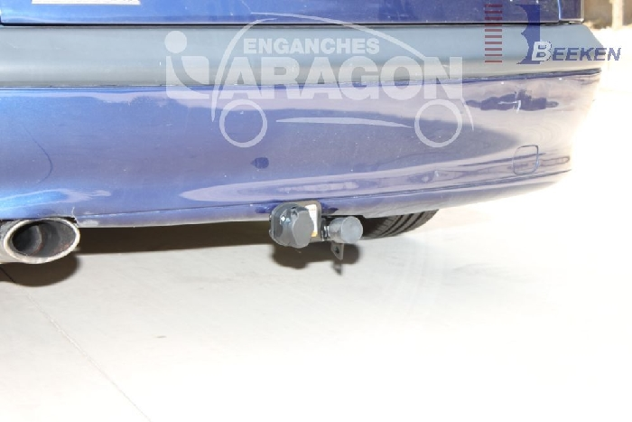 Anhängerkupplung Renault-Laguna Fließheck, Baureihe 1993-2001 Ausf.:  horizontal