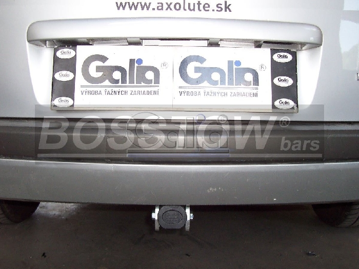 Anhängerkupplung Renault-Megane Kombi, Baureihe 2009-2011 Ausf.:  horizontal