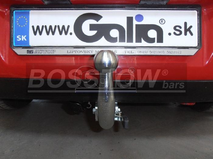 Anhängerkupplung Seat-Ibiza Fließheck, nicht Cupra, GLX, GTI, Baureihe 2002-2007 Ausf.:  horizontal