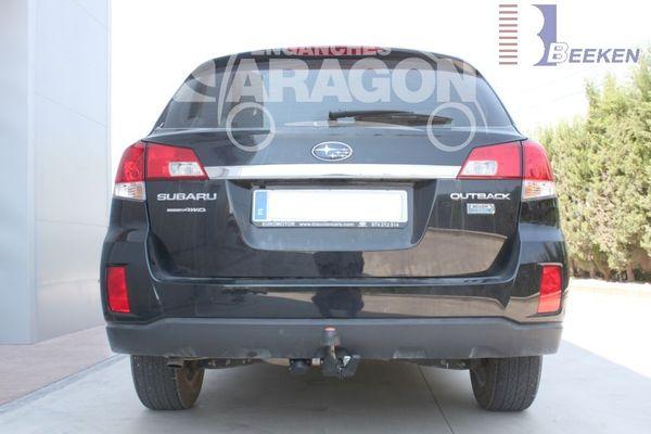 Anhängerkupplung für Subaru-Outback Outback, Kombi, BM, BR, Baureihe 2009-2014  horizontal