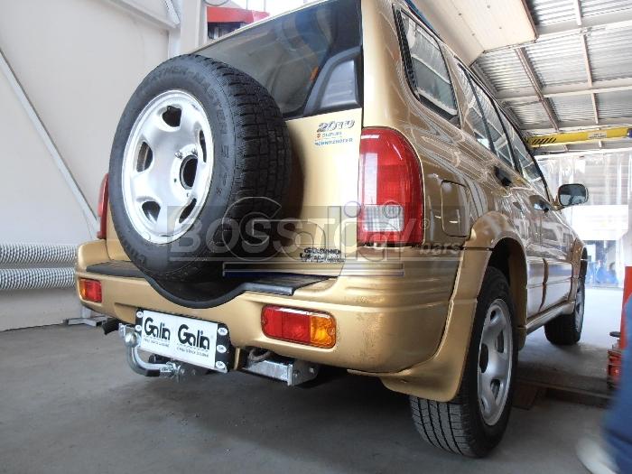Anhängerkupplung Suzuki-Grand Vitara 5-türig nicht Cabrio, nicht XL- 7, Baureihe 1998-2004 Ausf.:  horizontal