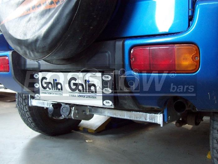 Anhängerkupplung Suzuki-Jimny, Baureihe 1998-2001,