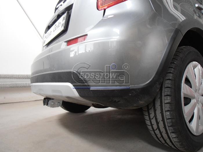Anhängerkupplung Suzuki-SX4 Geländewagen, Fließheck, 2WD / 4 WD, Baureihe 2013-