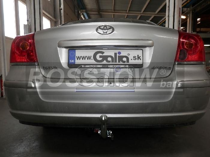 Anhängerkupplung für Toyota-Avensis T25, Fließheck, Baureihe 2003-2009  horizontal