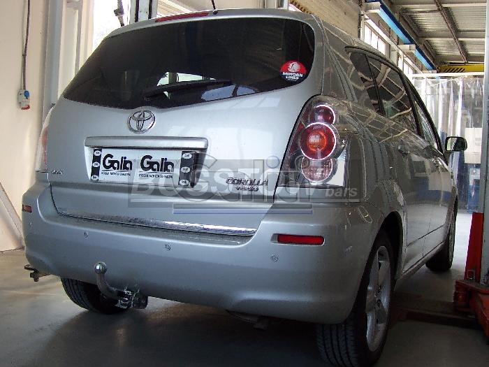 Anhängerkupplung Toyota Corolla (R1) Verso, Baureihe 2004-2009  horizontal