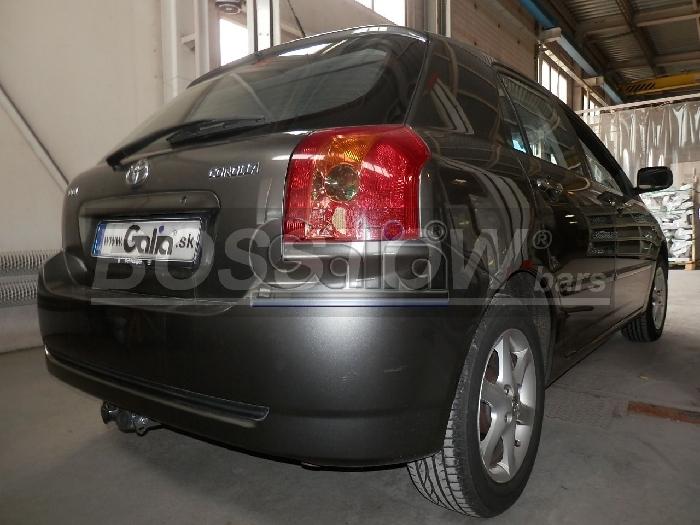 Anhängerkupplung für Toyota-Corolla (E12) Fließheck, Baureihe 2002-2004  horizontal