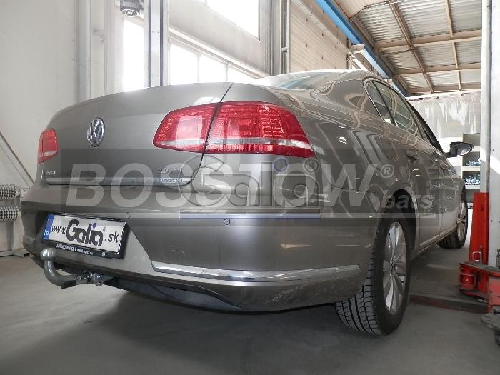 Anhängerkupplung für VW-CC Coupe, Baureihe 2012-  horizontal