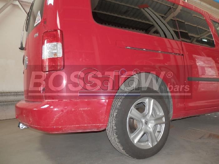 Anhängerkupplung VW-Caddy III, IV, Kasten/ Bus/ Kombi, incl. Life, Baureihe 2004-2015 Ausf.:  horizontal