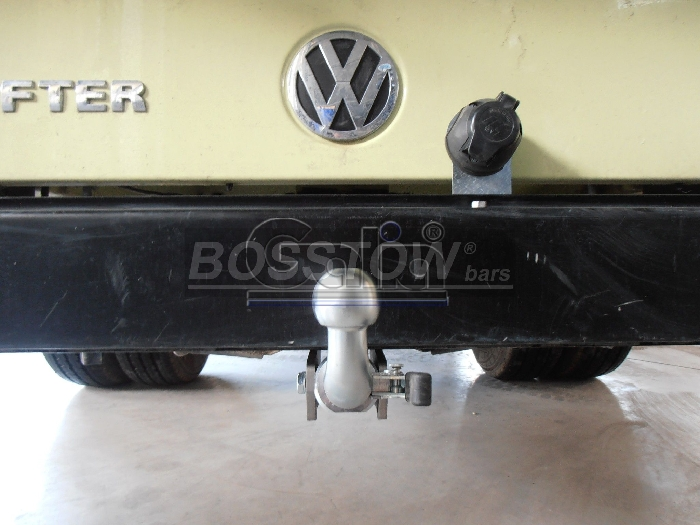 Anhängerkupplung VW-Crafter I 46, Pritsche, Radstd. 3250mm, Baureihe 2006-2017 Ausf.:  horizontal