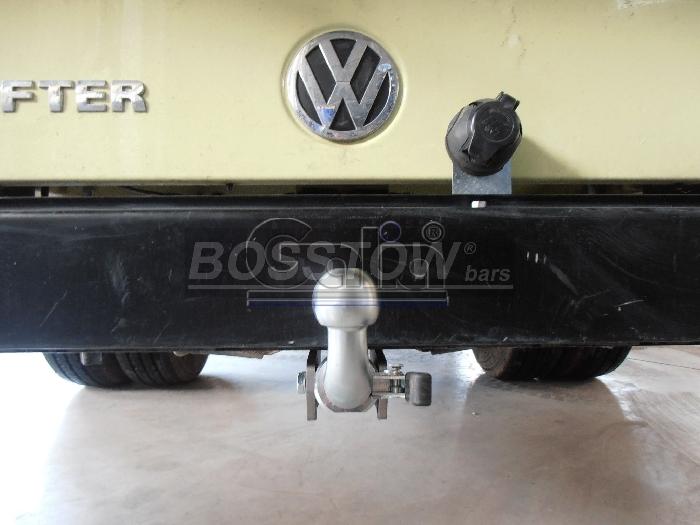 Anhängerkupplung VW-Crafter I 50, Pritsche, Radstd. 3665mm, Baureihe 2006-2017 Ausf.:  horizontal